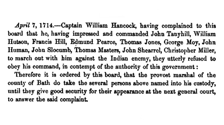 Excerpt from Hawks' History of North Carolina