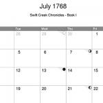 June 1768 calendar