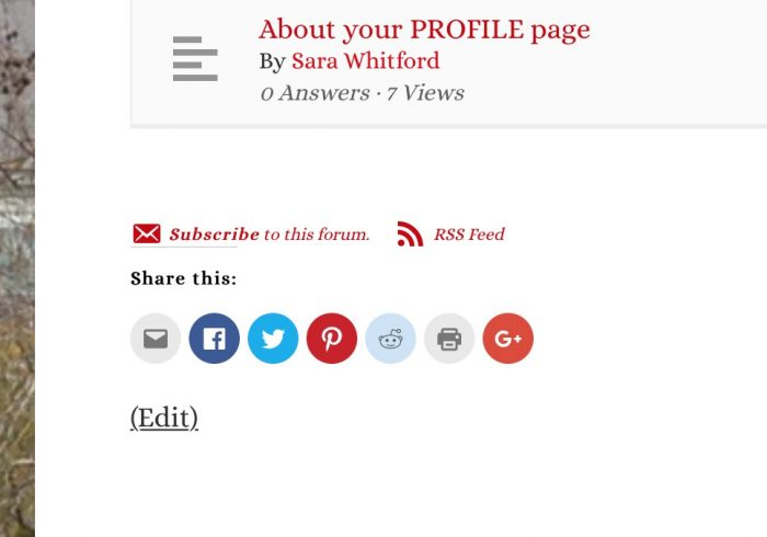Click the red Subscribe to this forum or post link to get email notifications when new content is posted.