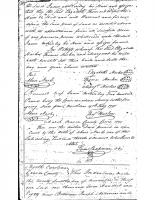 Joseph ANDERSON and Sarah WILLIAMS and husband to Isaac LANE